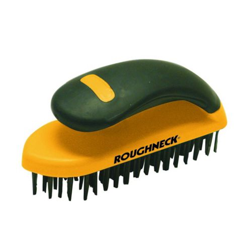 Heavy-Duty Scrub Brush Soft Grip 200mm