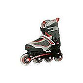Xcess MX-S1000 Red/Grey Childrens Inline Skate - Black