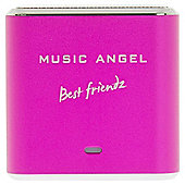 Music Angel Friendz Portable Speaker Pink