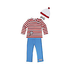 Where's Wally? Dress Up Costume years 03 - 04 Multi