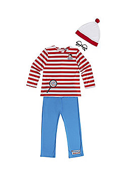 Where's Wally? Dress Up Costume - 3-4 yrs