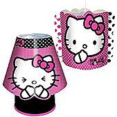 Hello Kitty Light Shade and Kool Lamp Boxed Lighting Set