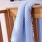 Clair de Lune Blanket (Honeycomb Blue)