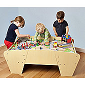 Plum® Train and Track Wooden Activity Table with Accessories