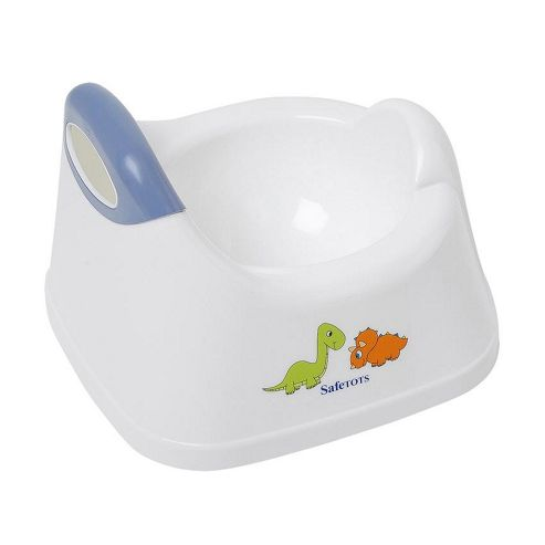 Buy Safetots Dinosaur Toilet Training Potty White With