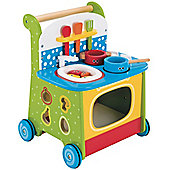 ELC Wooden Activity Kitchen