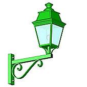 Roger Pradier Avenue 3 No. 12 Wall Lantern - E27 70W MH - British Racing Green