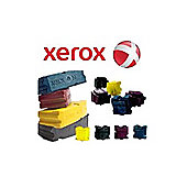 Xerox ColorStix (5 x Cyan 2 x Black) Yield 7,000 Pages Solid Ink Sticks for Xerox Phaser 860 Series