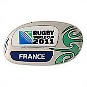 Official France Rugby World Cup 2011 Pin Badge