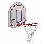 Sure Shot basketball backboard with England Basketball logo with 203e ring