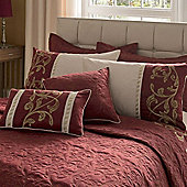 Catherine Lansfield Home Signature Persia Pillowshams Red
