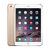 Apple iPad mini 3 16GB Wi-Fi & Cellular (3G/4G) Gold