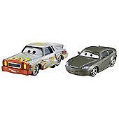 Disney Pixar Cars 2 - Race Team Bob Cutlass and Darrell Cartrip