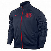 2013-14 Barcelona Nike Core Trainer Jacket (Navy) - Navy