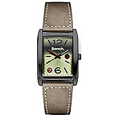 Bench Mens Leather Fashion Watch - BC0423GNBR
