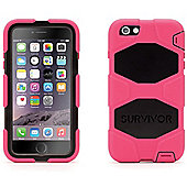 Griffin Survivor All Terrain Case for iPhone6/6 Plus - Pink/Black