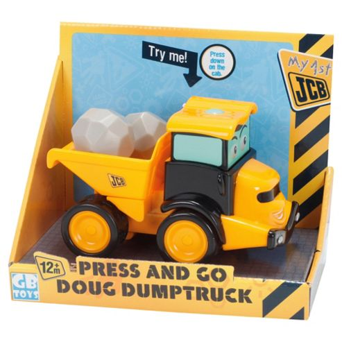 My 1st JCB Press & Go Doug Dumptruck
