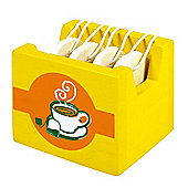 Santoys ST654 Wooden Play Food Tea Bags