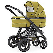 Bebecar Hip Hop Urban Magic Plus Black Combi Pram (Pistachio)