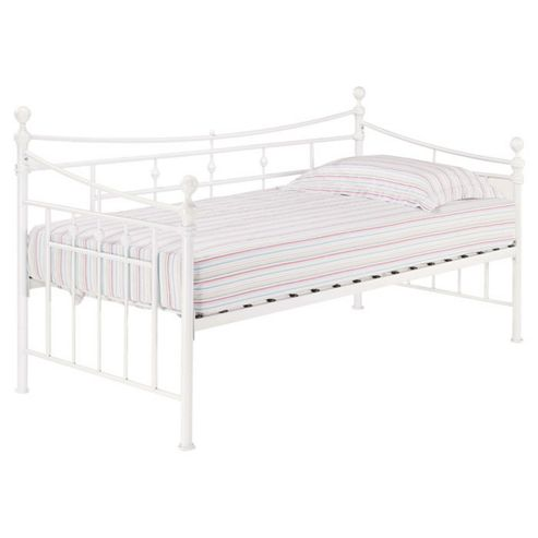 Home Zone Olivia Day Bed Frame - White