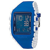 Reebok Workout Z1G Mens Silicone Alarm Chronograph Watch RF-WZ1-G9-PLIW-LW