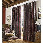 Archie Denim Eyelet Curtains, 229x229cm