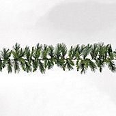 270cm/9ft Emerald Pine Green Garland