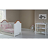 Obaby B is for Bear Cot Bed, Drawer and Open Changer