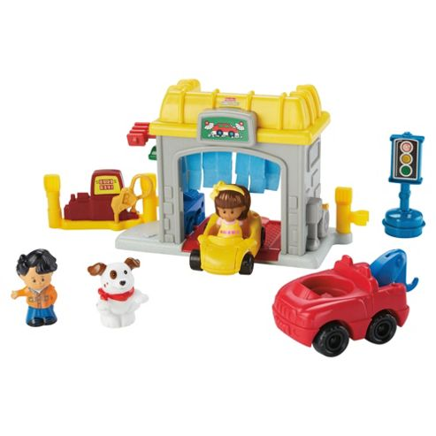 Fisher-Price Little People Mini Garage