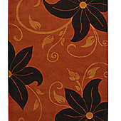 Oriental Carpets & Rugs Verona OC15 Terra/Brown Rug - 160cm x 220cm