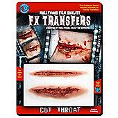 Halloween Special Effects Makeup - Cut Throat