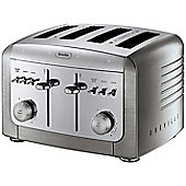 Breville VTT311 Elements Stainless Steel 4-Slice Toaster