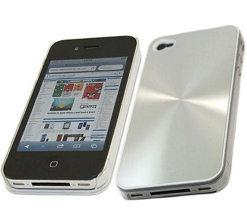 iTALKonline Imperial Hard Case Silver - For Apple iPhone 4