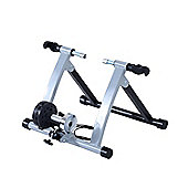 Homcom Magnetic Bicycle Trainer in Silver