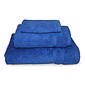 Royal Blue 3 Piece 450gsm Turkish Towel Bale