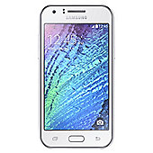 Tesco Mobile Samsung Galaxy J1 White