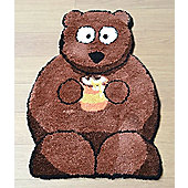 Bertie Bear Rug 60 x 90 cm