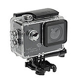 Sports Cam 4K Action Camera with 2.0 Screen, Wi-Fi and Waterproof Case (30m) + 10 mountings and accessories