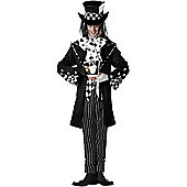 Adult Dark Mad Hatter Costume Extra Large