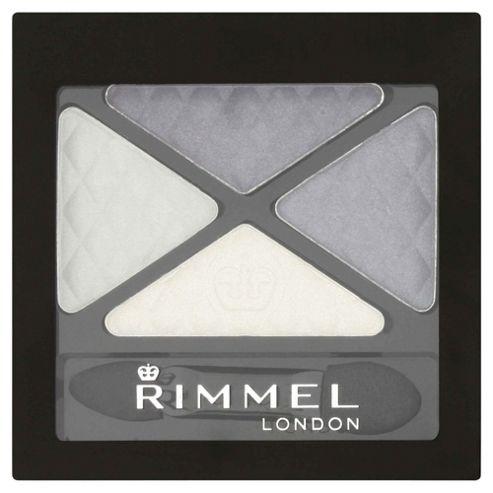 Rimmel Glam'Eyes Quad Eyeshadow Smokey Blue