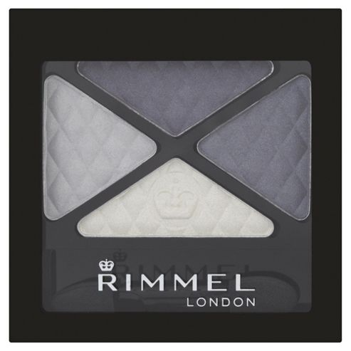Rimmel Glam'Eyes Quad Eyeshadow Smokey Blue