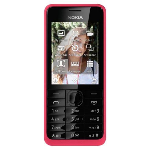Orange Nokia Asha 301 Pink
