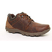 Mens Brown Cat Emerge Casual Shoe