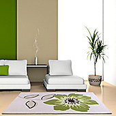 Ultimate Rug Co Floral Art Elite Rug - 120 cm x 170 cm (3 ft 11 in x 5 ft 7 in)