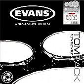 Evans ETP-EC2SCTD-F EC2 Coated SST Drum Head Pack (Fusion)