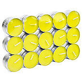 Tesco 30 Pack Tealights Lime Nectarine