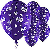 11' Birthday Perfection 60 Purple (25pk)