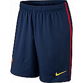 2014-2015 Barcelona Home Nike Football Shorts (Kids)