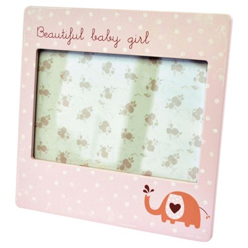 Beautiful Baby Girl Photo Frame