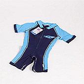 Koolsun Boys Blue One Piece UV Sunsuit (6-12mths)